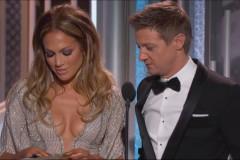 Jennifer Lopez Jeremy Renner Golden Globes