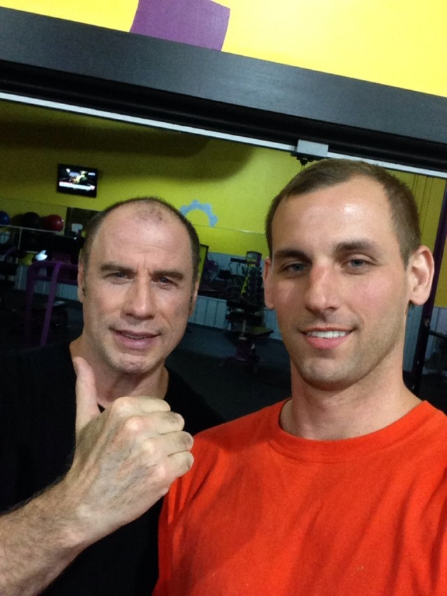 John Travolta without Hair