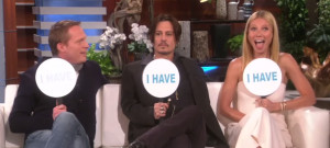 Johnny Depp Gwyneth Paltrow Play Never Have I Ever