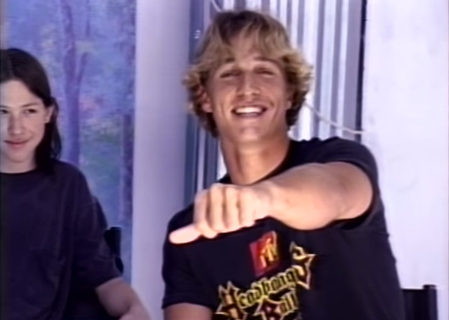 Matthew McConaughey Dazed and Confused Audition Tape
