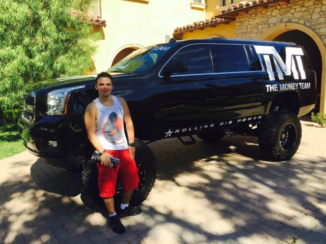 Prince Jackson Parties with Justin Bieber and Floyd Mayweather