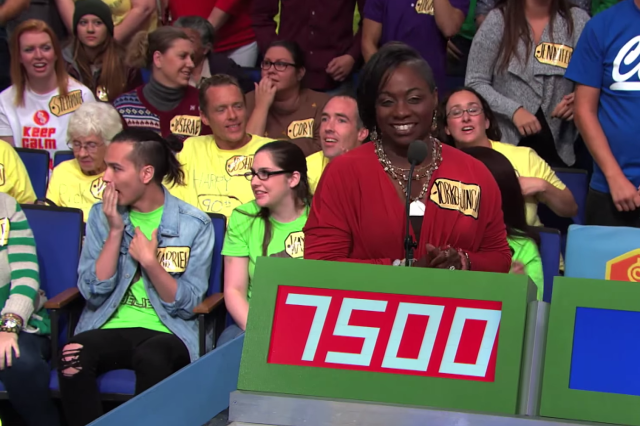 The Price is Right iPhone Contestants Guesses