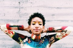 Willow Smith posted a topless photo on INstagram