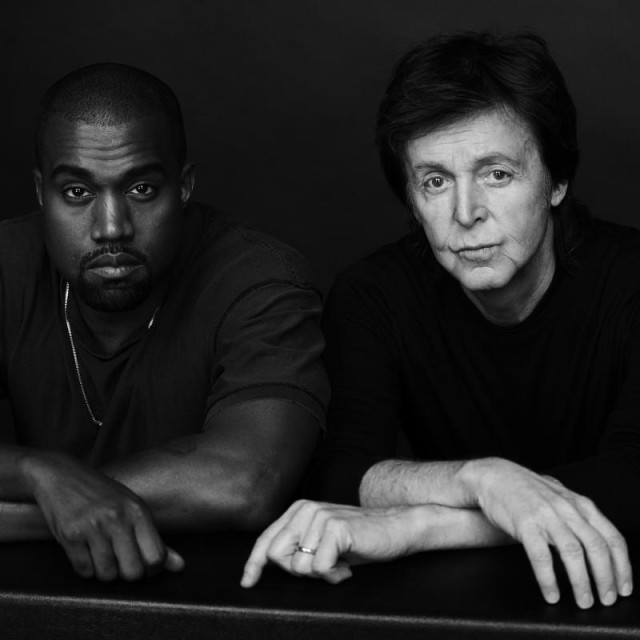 Kanye West Only One with Paul McCartney