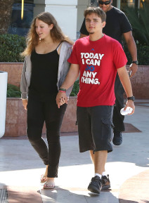 Prince Jackson & Nikita Bess Holding Hands In Los Angeles