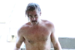 Exclusive... Shirtless Colin Farrell Leaving A Yoga Class