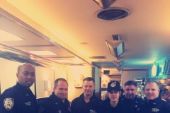 Justin Bieber paid NYPD meal