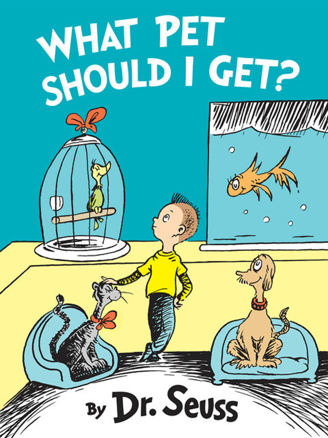 What Pet Should I Get by Dr. Seuss 03