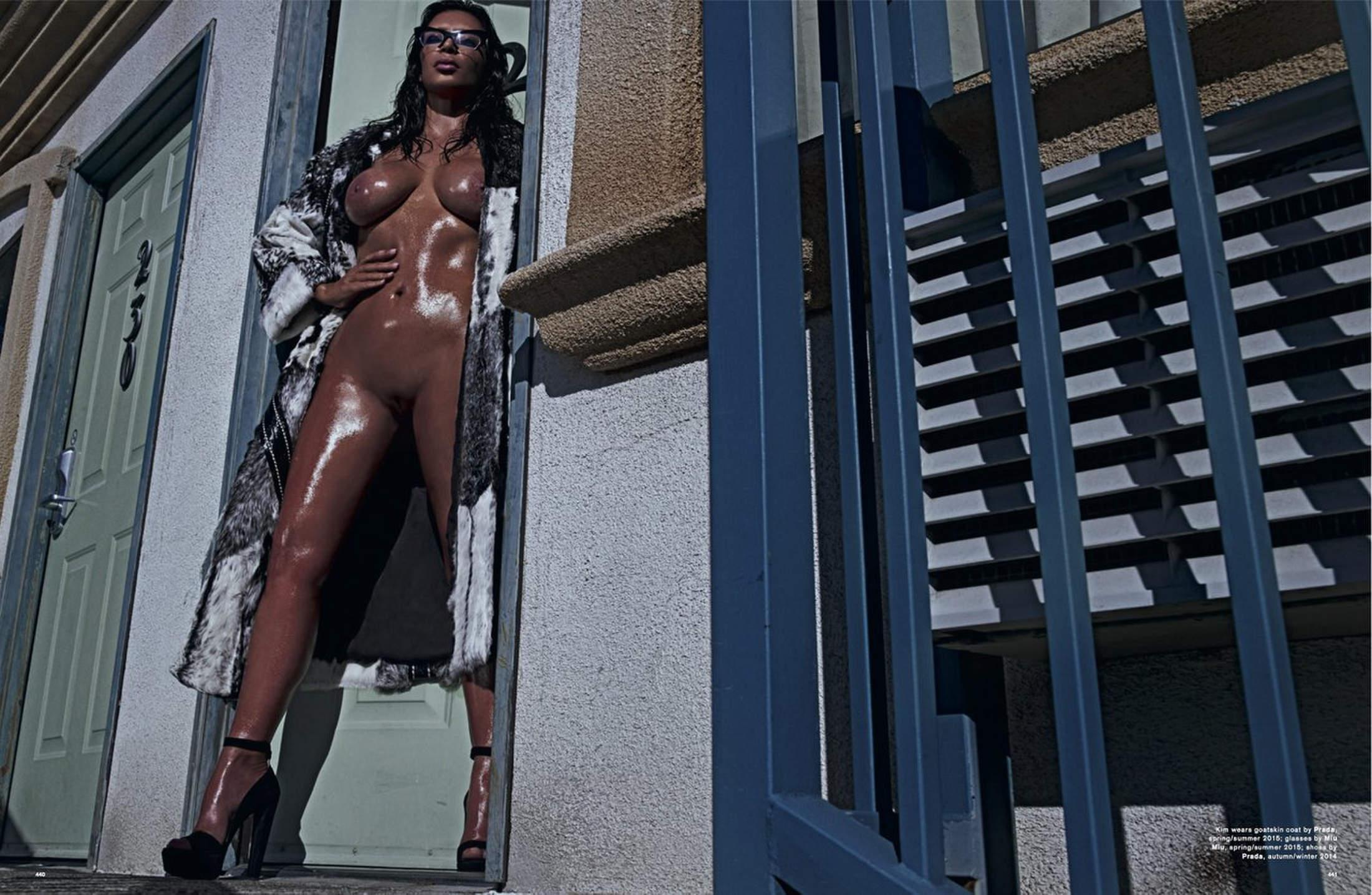 kim kardashian nude love magazine