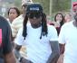Chris Brown Hosts A Charity Kick Ball Game