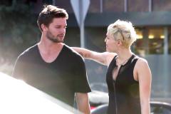 Miley Cyrus & Patrick Schwarzenegger Stop By Hugo's Tacos