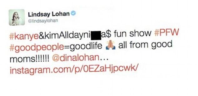Lindsay Lohan N Word Instagram 02