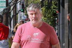 Alec Baldwin Running Errands In Beverly Hills