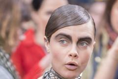 Cara Delevingne Chanel Paris Fashion Week