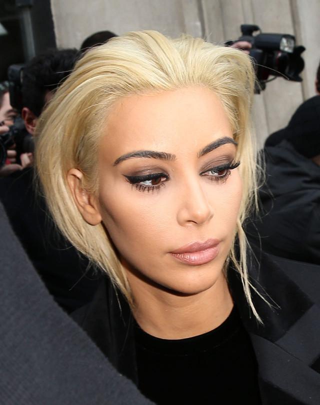 Kim Kardashian Blonde Hair 103