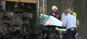 train car crash