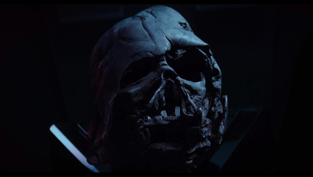 Darth Vader Melted Helmet