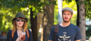 Andrew Garfield & Emma Stone Stroll Hand-In-Hand In New York