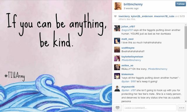 britt mchenry instagram