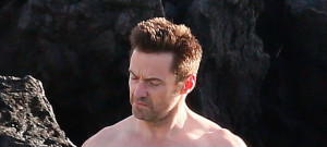 51725993 Actor Hugh Jackman enjoying a day on the beach in Hawaii on April 29, 2015. Hugh was snubbed for the 2015 Best Actor Nomination at the Tony Awards. Bradley Cooper got the nomination instead. FameFlynet, Inc - Beverly Hills, CA, USA - +1 (818) 307-4813