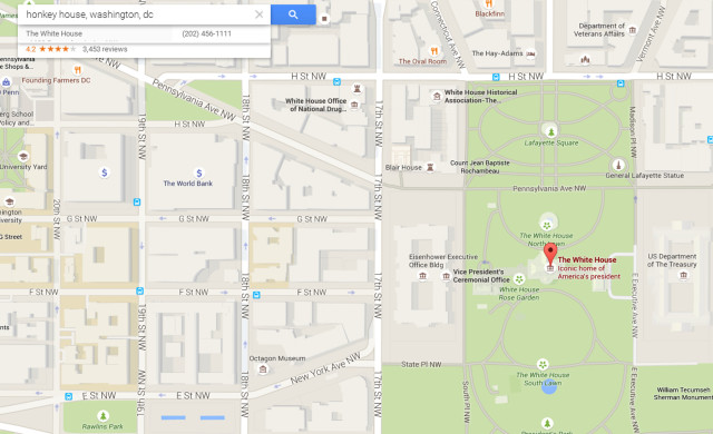 Racial Slur Google Map Search 07