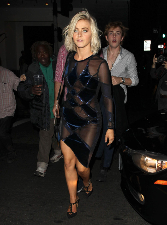 51748428 Celebrities attend the 'Dancing With The Stars' finale after party at Beso Restaurant in Hollywood, California on May 19, 2015.  Celebrities attend the 'Dancing With The Stars' finale after party at Beso Restaurant in Hollywood, California on May 19, 2015.  Pictured: Julianne Hough FameFlynet, Inc - Beverly Hills, CA, USA - +1 (818) 307-4813