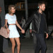 51755318 Couple Taylor Swift and Calvin Harris spotted out for a late night date in New York City, New York on May 26, 2015. Taylor showed off her long legs and toned midriff while out on the date. FameFlynet, Inc - Beverly Hills, CA, USA - +1 (818) 307-4813