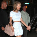 51755324 Couple Taylor Swift and Calvin Harris spotted out for a late night date in New York City, New York on May 26, 2015. Taylor showed off her long legs and toned midriff while out on the date. FameFlynet, Inc - Beverly Hills, CA, USA - +1 (818) 307-4813