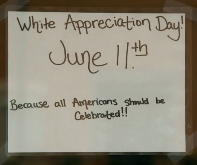white appreciation day bbq