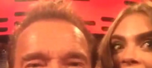 Arnold Schwarzenegger Cara Delevingne Jake Gyllenhaael Emilia Clarke on the Graham Norton Show