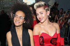 Miley Cyrus Brings Agender Tyler Ford to amFar Gala
