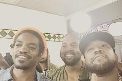 Kanye West Big Boi Andre 3000