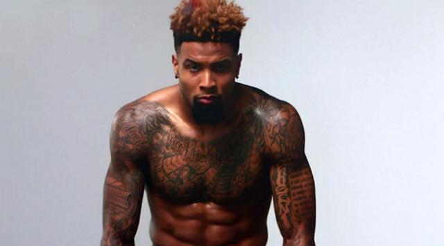New York Giants wide receiver Odell Beckham, Jr. ESPN Body Issue