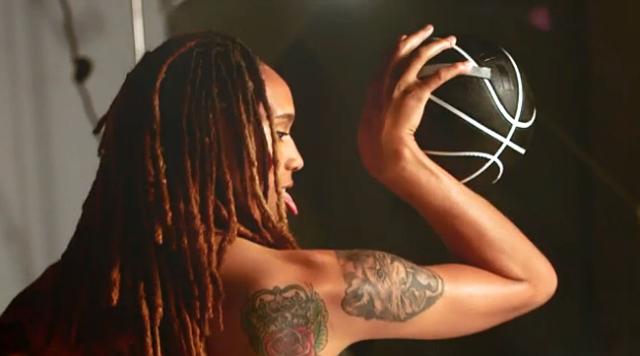 WNBA Phoenix Mercury center Brittney Griner ESPN Body Issue
