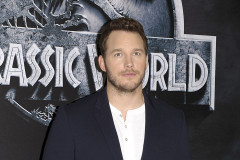 51760531 Actor Chris Pratt and director Colin Trevorrow attend the 'Jurassic World' Berlin photocall at The Regent Hotel on June 1, 2015 in Berlin, Germany. FameFlynet, Inc - Beverly Hills, CA, USA - +1 (818) 307-4813 RESTRICTIONS APPLY: USA ONLY - NO WEBSITE USE