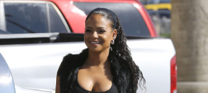 51767715 Singer Christina Milian spotted out running errands in Los Angeles, California on June 8, 2015. Christina has brushed off disses from Lil Wayne's ex-girlfriend Karrine Steffans, saying that Karrine is just mad that she's with Lil Wayne now. FameFlynet, Inc - Beverly Hills, CA, USA - +1 (818) 307-4813