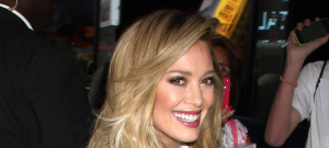 "51774168 Celebrities visit ABC Studios for an appearance on ""Good Morning America"" in New York City, New York on June 16, 2015.   Celebrities visit ABC Studios for an appearance on ""Good Morning America"" in New York City, New York on June 16, 2015.   Pictured: Hilary Duff FameFlynet, Inc - Beverly Hills, CA, USA - +1 (818) 307-4813"