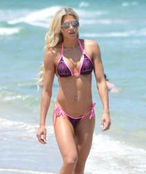Jill Bunny Shows Off Her Bikini Body In Miami