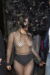 51767680 Singer Lady Gaga takes a late visit to the Philip Treacy shop before heading to The Box club in London, England on June 8, 2015. Earlier Gaga performed with Tony Bennett at the Royal Albert Hall. FameFlynet, Inc - Beverly Hills, CA, USA - +1 (818) 307-4813 RESTRICTIONS APPLY: USA ONLY