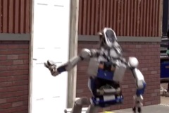 DARPA Robot Challenge Robots Falling Down