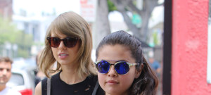 51774443 Gal pals Taylor Swift and Selena Gomez head to lunch together in West Hollywood, California on June 16, 2015. Taylor can;t get enough of her famous friends as of late and recently threw her BFF Jaimie King a star-studded baby shower with guests like Gigi Hadid, Jessica Alba, Nina Dobrev and Sarah Hyland. Gal pals Taylor Swift and Selena Gomez head to lunch together in West Hollywood, California on June 16, 2015. Taylor can't get enough of her famous friends as of late and recently threw her BFF Jaimie King a star-studded baby shower with guests like Gigi Hadid, Jessica Alba, Nina Dobrev and Sarah Hyland. FameFlynet, Inc - Beverly Hills, CA, USA - +1 (818) 307-4813