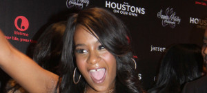 51781190 Bobbi Kristina Brown, 22, the daughter of late music legend Whitney Houston and R&B singer Bobby Brown has passed away at the Peachtree Christian Hospice surrounded by family and friends in Duluth, Georgia on July 26, 2015. The Brown family released this statement 'She is finally at peace in the arms of God','We want to again thank everyone for their tremendous amount of love and support during these last few months.'  **FILE PHOTOS** FameFlynet, Inc - Beverly Hills, CA, USA - +1 (818) 307-4813