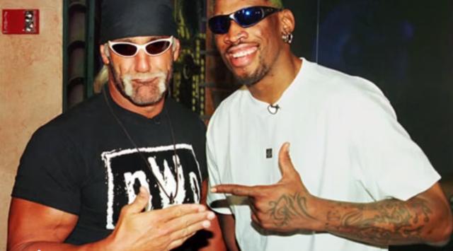 Hulk Hogan Dennis Rodman screenshot