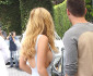 51805200 Happy couple Bella Thorne and Gregg Sulkin enjoy lunch at Cecconi's in West Hollywood, California on July 21, 2015. Bella was rocking a revealing blue dress during her lunch date. FameFlynet, Inc - Beverly Hills, CA, USA - +1 (818) 307-4813
