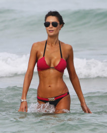 51804514 Brazilian model Julia Pereira shows off her bikini body while enjoying a beach day on July 20, 2015 in Miami, Florida. Julia was spotted paddle-boarding and riding jet skis with her friends and family. FameFlynet, Inc - Beverly Hills, CA, USA - +1 (818) 307-4813