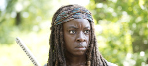 Danai Gurira as Michonne - The Walking Dead _ Season 5, Episode 9 - Photo Credit: Gene Page/AMC