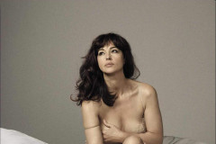 Monica Bellucci Poses for August 2015 GQ Italia