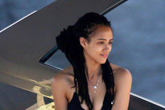 "51800256 ""Game of Thrones"" actress Nathalie Emmanuel shows off her bikini body while enjoying her vacation in Ischia, Italy on July 15, 2015. Natahlie, who plays translator Missandei on the hit HBO series, went shopping before heading to the beach for a quick swim. Later she and friends lounged about on the back of a boat... FameFlynet, Inc - Beverly Hills, CA, USA - +1 (818) 307-4813 RESTRICTIONS APPLY: USA/AUSTRALIA ONLY"
