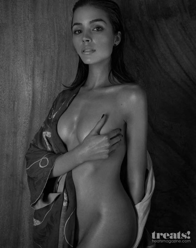 olivia culpo poses naked for treats magazine 197060 photos the