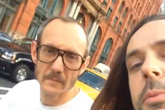 terry richardson gets called a creep by jeff leach